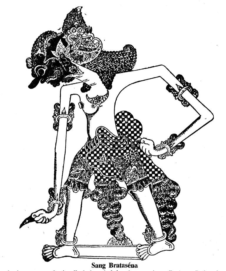 Nail Art Untuk Kulit Hitam: Konservasi Gambar Wayang Kulit Purwa Dari Buku Bharata