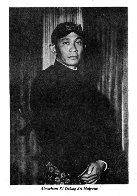 Foto Ki Sri Mulyono Djojosupadmo
