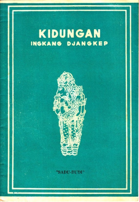 Buku KIDUNGAN INGKANG DJANGKEP - R. Tanoyo