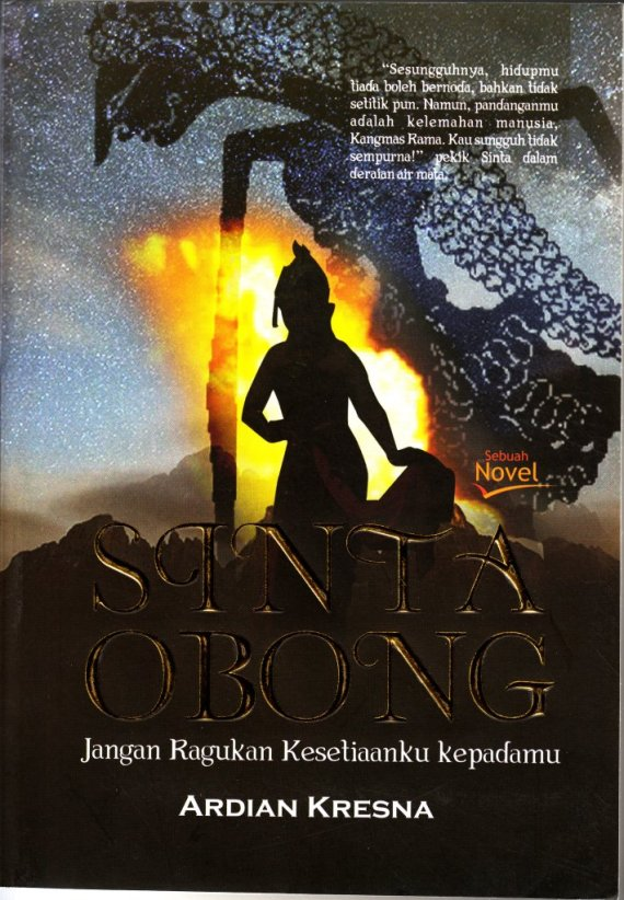 Buku SINTA OBONG - Ardian Kresna