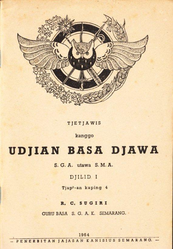 UDJIAN BASA DJAWA oleh RC Sugiri