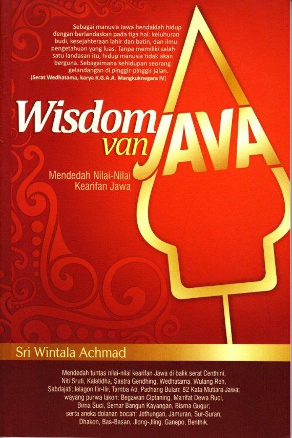 Buku WISDOM VAN JAVA - Sri Wintala Achmad