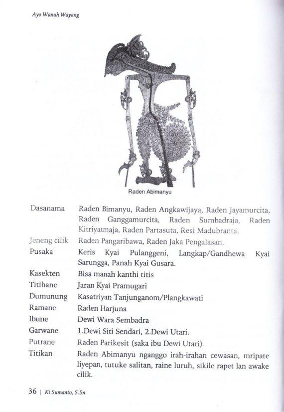 Halaman 36 dari buku AYO WANUH WAYANG - Sumanto