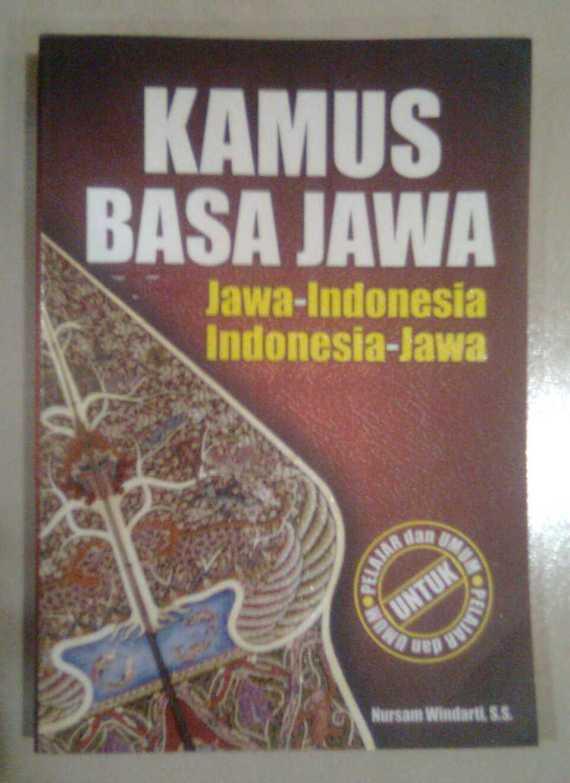 Buku KAMUS BASA JAWA - Nursam Windarti