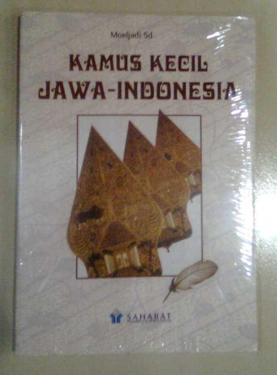 Buku KAMUS KECIL JAWA - INDONEIA - Moeljadi Sd