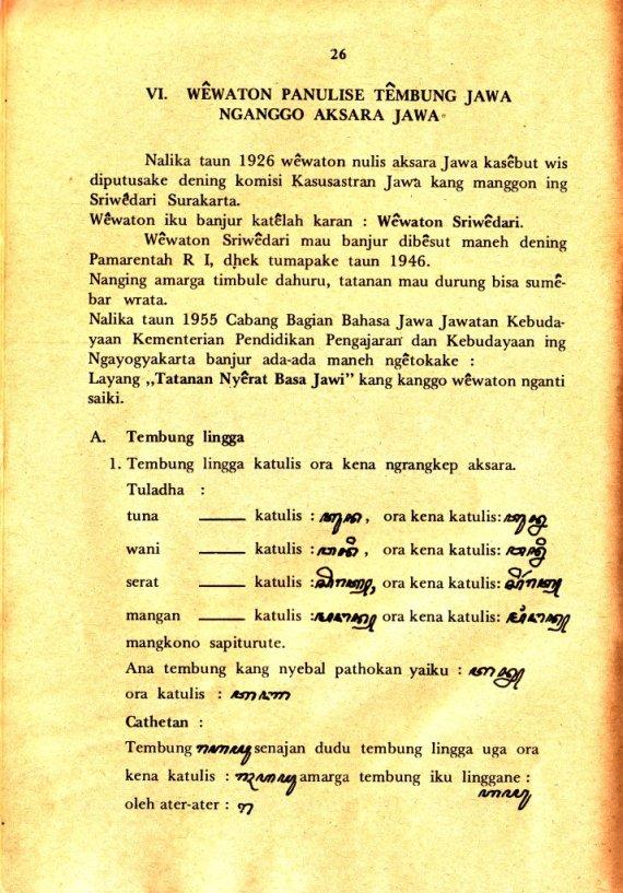 Buku NYERAT JAWI - Wardono dan S. Pemut Subagyo