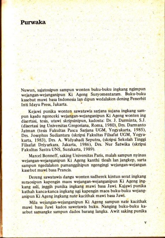 """Kata pengantar buku """"Kawruh Jiwa 2"""""""