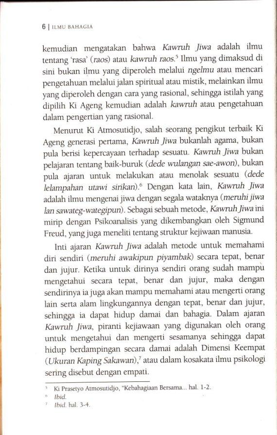 Ki Ageng Suryomentaram - Afthonul Afif