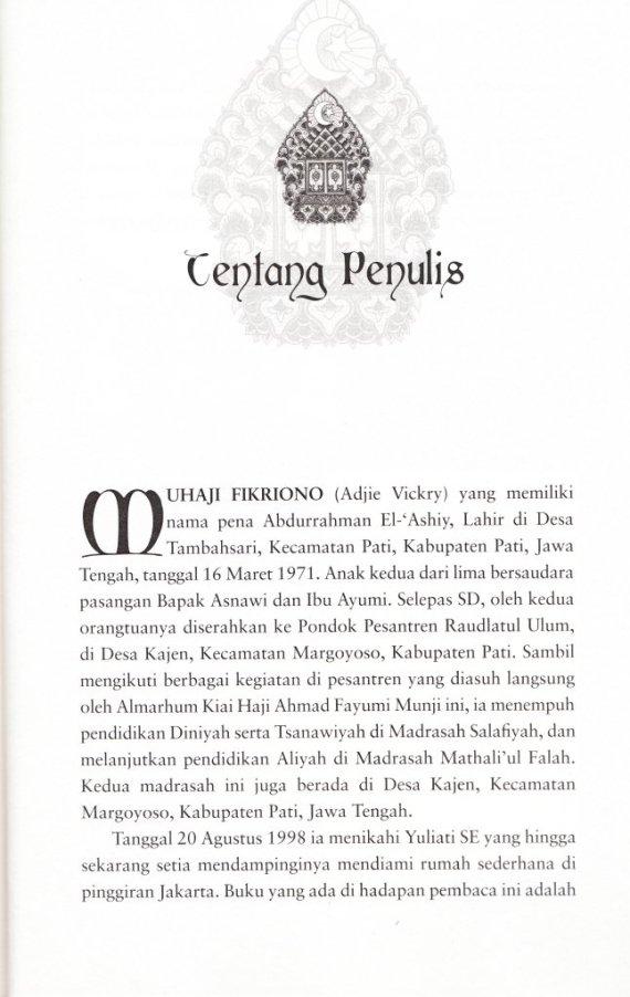 Profil Penulis MUHAJI FIKRIONO.