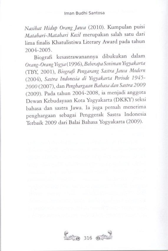 Profil Penulis IMAN BUDHI SANTOSA