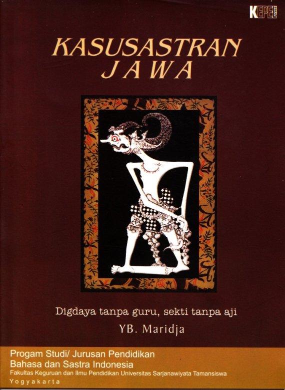 Buku KASUSASTRAN JAWA - YB Maridja