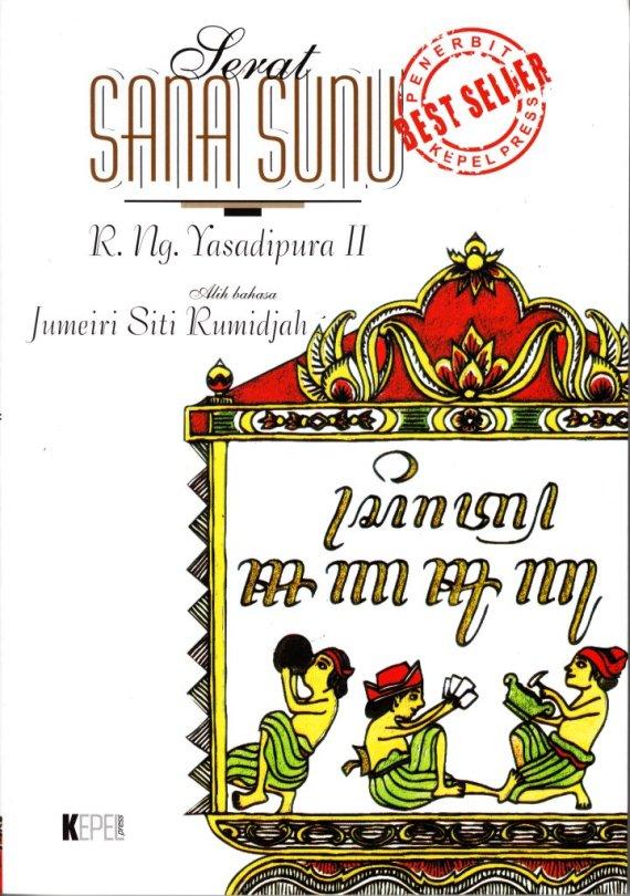 Buku SERAT SANA SUNU - Jumeiri