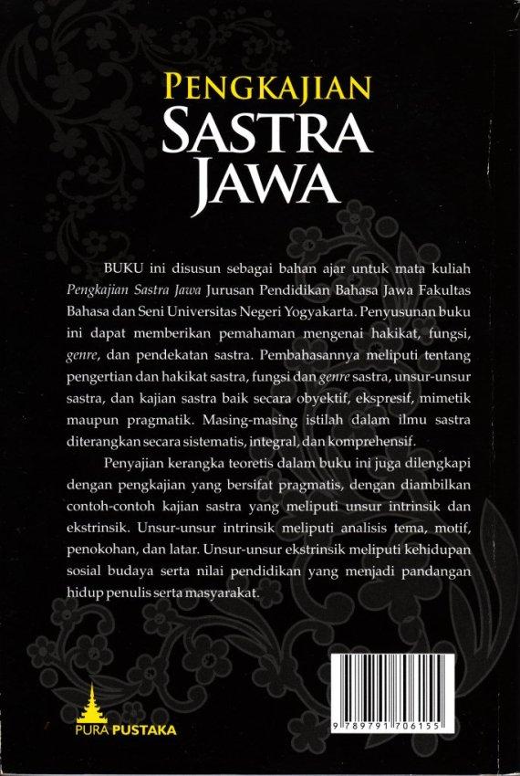 CvrB Pngkajian Sastra Jawa- Purwadi cmprs