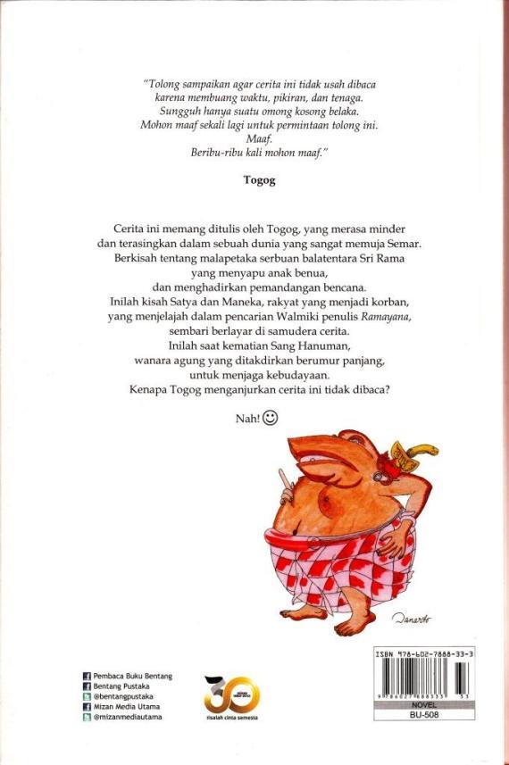 Cvr Blk Ktb Omong Kosong- Sena Gumira A cmprs