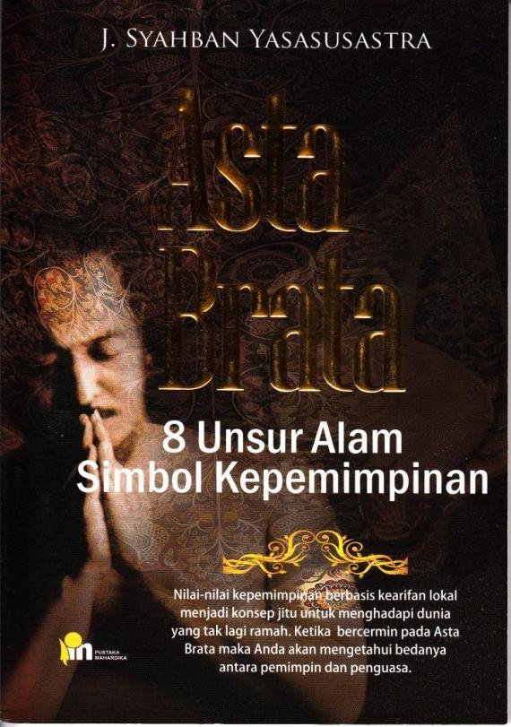 Sampul buku wayang ASTA BRATA oleh Syahban Yasasusastra