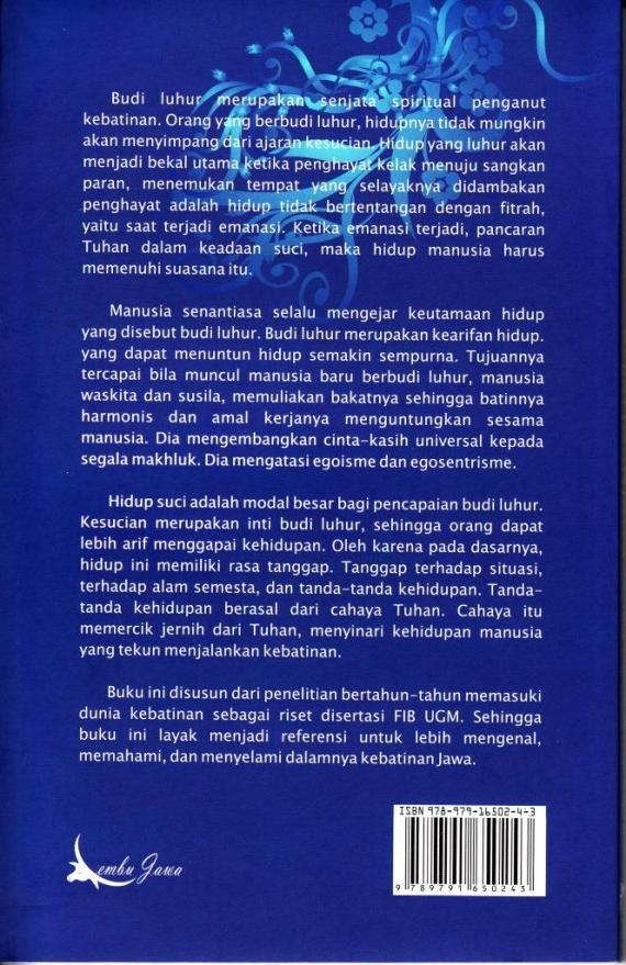 Cvr Blk Kebatinan Jawa- Suwardi Endraswara cmprs