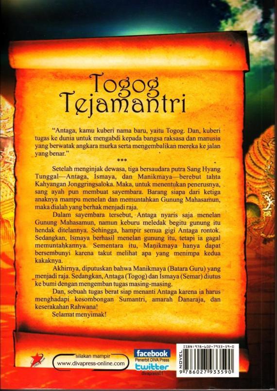 Cvr Blk Togog Tejamantri- Gesta Bayuadhy cmprs