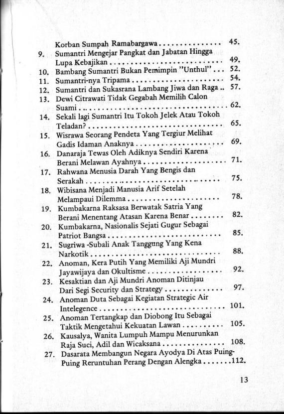 Dftr Isi 2 Wyng & Karakter Mnsia 1- Sri Mulyono cmprs
