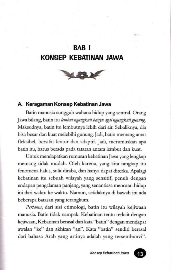 """Konsep Kebatinan Jawa"" - Suwardi Endraswara."