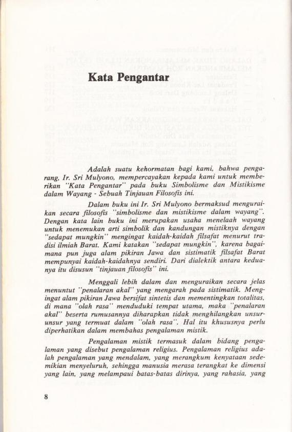 Sambutan dari Drs. Kuntara Wiryamartana SJ