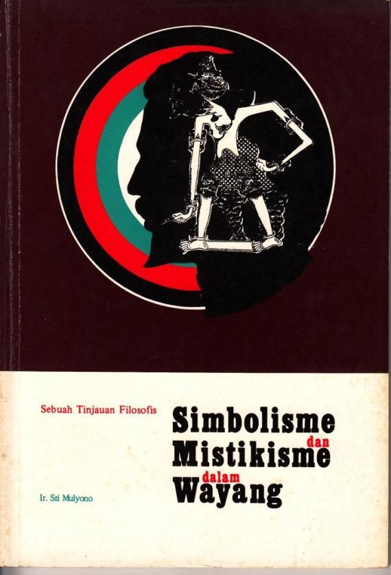 Sampul depan buku SIMBOLIEMS DAN MISTIKISME DALAM WAYANG oleh Sri Mulyono.