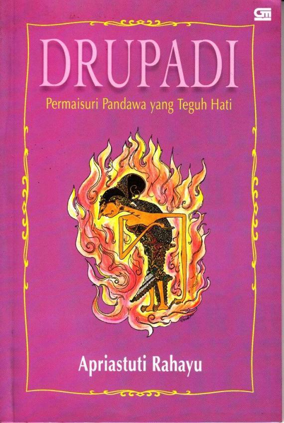 Sampul buku DRUPADI karya Apriastuti Rahayu.
