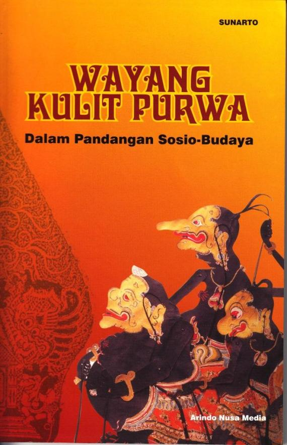 Sampul buku WAYANG KULIT PURWA. Dalam Pandangan Sosio-Budaya.