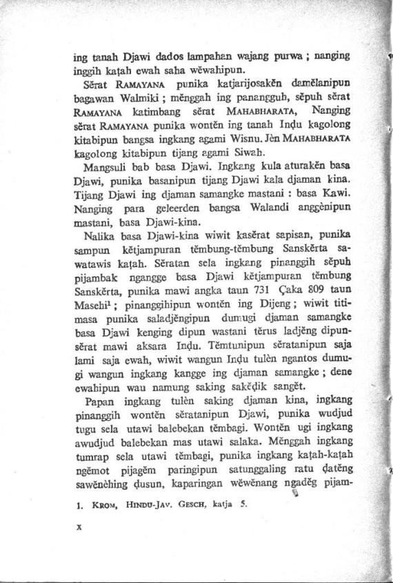 Pengantar 6 Kepustakan Jawi- Poerbatjaraka cmprs
