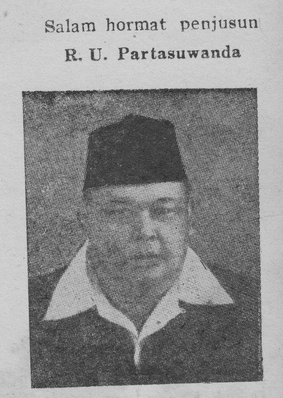 Foto RU Partasuwanda dipindai dari bukunya PAWAJANGAN WINDU KRAMA.