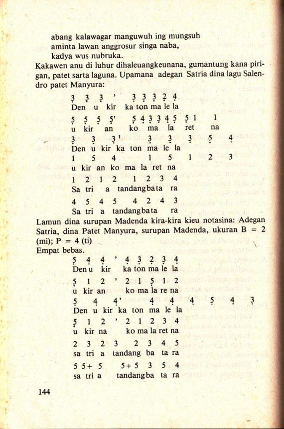 Contoh isi buku TETEKON PADALANGAN SUNDA karya Atik Soepandi.