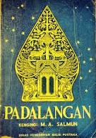 buku PADALANGAN karya MA Salmun terbitan Balai Pustaka