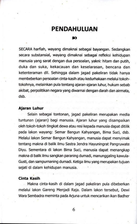 Kata Pendahuluan di buku SUYUDANA LENGSER KEPRABON oleh Ki Wisnoe Poerwo Tjarito dan Sri Wintala Achmad.