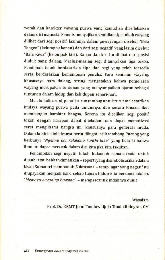 Pengantar 4 Enneagram Dlm Wyng Purwa- John Tondowidjojo cmprs