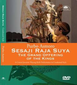 DVD pakeliran wayang purwa Sesaji Raja Suya gaya padat, dalang Ki Purbo Asmoro.