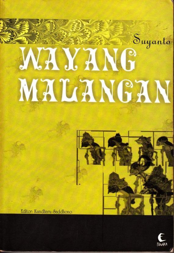 Buku WAYANG MALANGAN oleh Suyanto