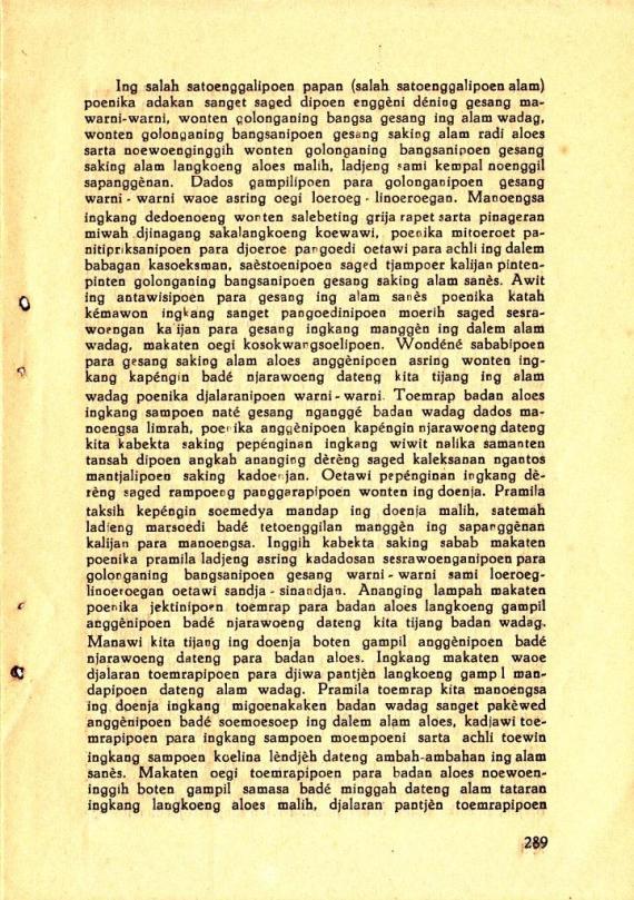 Hlm 289 Mahabharata Kawedar no 10 Oct 1938 cmprs