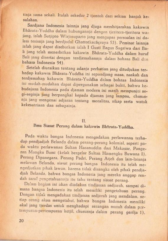 Sejarah 11 KAKAWIN BHARATA YUDDHA.