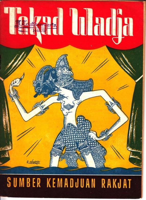 "Ebook ""TEKAD WADJA. Rekadaja murih nduweni kekarepan kang santosa."" oleh Imam Supardi, penerbit Panyebar Semangat, 1955."