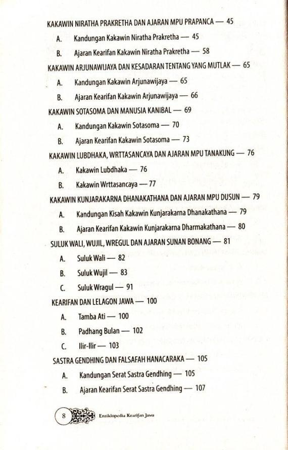Dftr Isi 2 Ensiklopedia Kearifan Jawa- Sri Wintala A cmprs